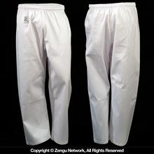 8.5 oz. White Middleweight Karate Pants